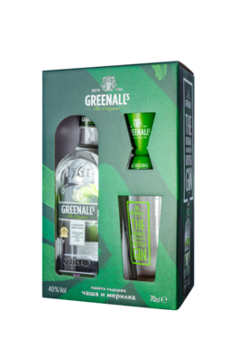 GREENALL'S LONDON DRY GIN ПРОМО ПАКЕТ